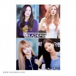 ПЛАКАТ, K-POP, BLACK PINK 5...