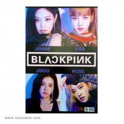 ПЛАКАТ, K-POP, BLACK PINK 7...