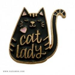 ЗНАЧКА, PN, 029 - CAT LADY