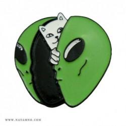 ЗНАЧКА, PN, 028 - CAT - ALIEN