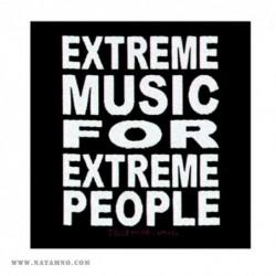 НАШИВКА SP1752 - EXTREME MUSIC