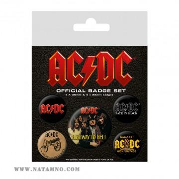 ЗНАЧКИ MUSIC, AC/DC