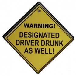 ТАБЕЛКА WARNING! DESIGNATED...