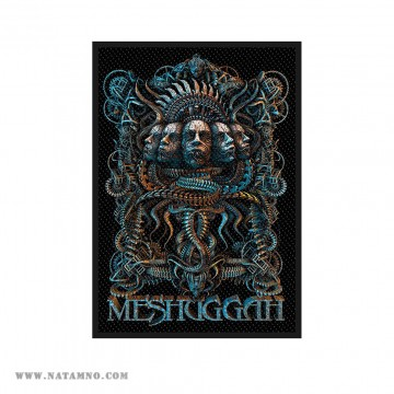 НАШИВКА - MESHUGGAH - 5 FACES