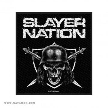 НАШИВКА - SLAYER - SLAYER...