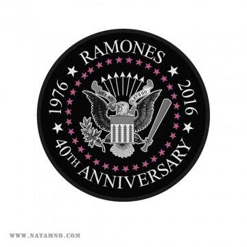 НАШИВКА - RAMONES - 40TH...