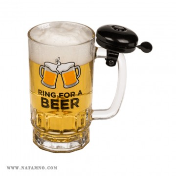 ЧАША, BEER GLASS WITH BELL
