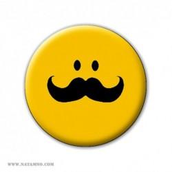 ЗНАЧКА 5592 - MOUSTACHE SMILE