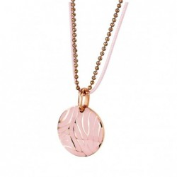 Колие NSS 339 rose gold/pink