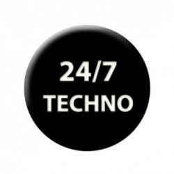 ЗНАЧКА 5714 - 24/7 TECHNO