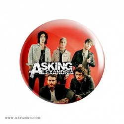 ЗНАЧКА 5767- ASKING ALEXANDRIA