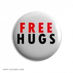 ЗНАЧКА 5770- FREE HUGS