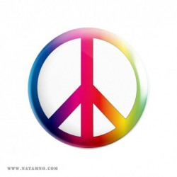ЗНАЧКА ГОЛЯМА 06- PEACE