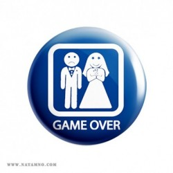 ЗНАЧКА ГОЛЯМА 22- GAME OVER 2